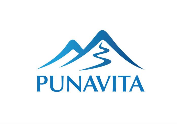 Dự án đặt tên thương hiệu nước tinh khiết PUNAVITA - logo thương hiệu
