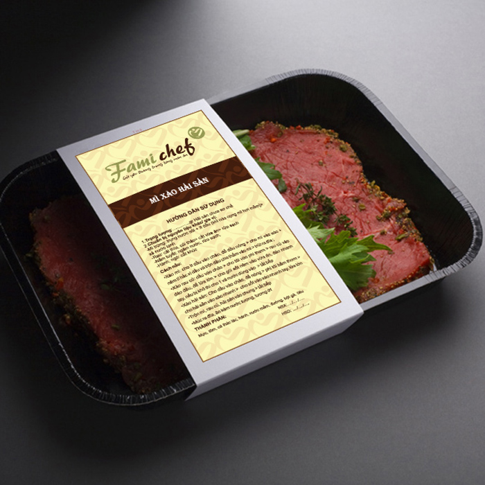 Đặt tên thương hiệu thực phẩm sơ chế FamiChef